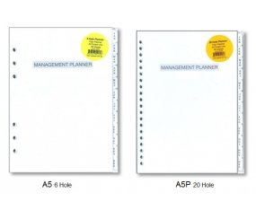 UG-PLA5RE A5 Planner Refill-Monthly 2020